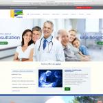 Site internet hôpital Sud-Gironde